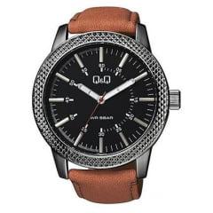 Relógio QeQ em Couro Masculino QB20J512Y