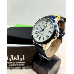 Relógio QeQ em Couro Masculino QB22J317Y