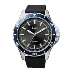 Relógio QeQ em Couro Masculino QB24J302Y