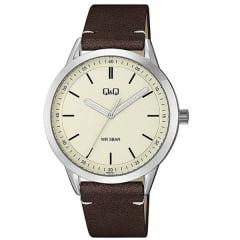 Relógio QeQ em Couro QB80J301Y
