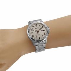 Relógio Seculus Prateado Lançamento