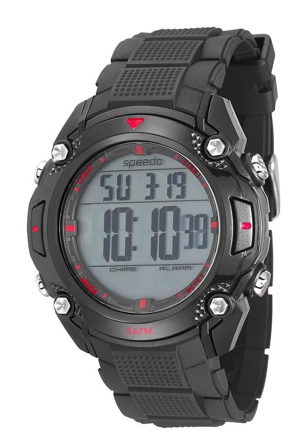 Relógio Speedo Masculino Esportivo Preto 81113G0EVNP2