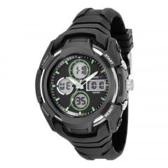 Relógio Speedo Masculino Esportivo Preto 81166g0evnv2