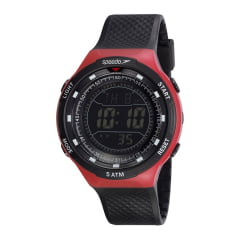 Relógio Speedo Masculino Esportivo Preto 81190G0EVNP2