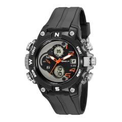 Relógio Speedo Masculino Esportivo Preto 81204G0EVNP2