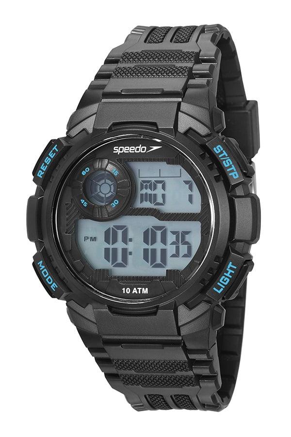 Relógio Speedo Masculino Esportivo Pretol 80642G0EVNP2