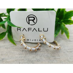 Brinco Banhado a Ouro Rafalu - BR0011S1