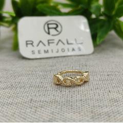 Piercing Fake Banhado a Ouro Rafalu BR0005I - 05 ANOS DE GARANTIA